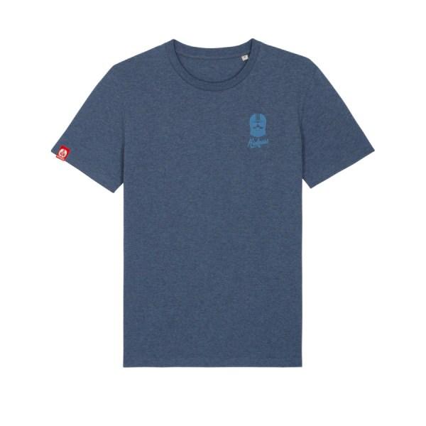 Tshirt brodé kickasss driver dark heather blue