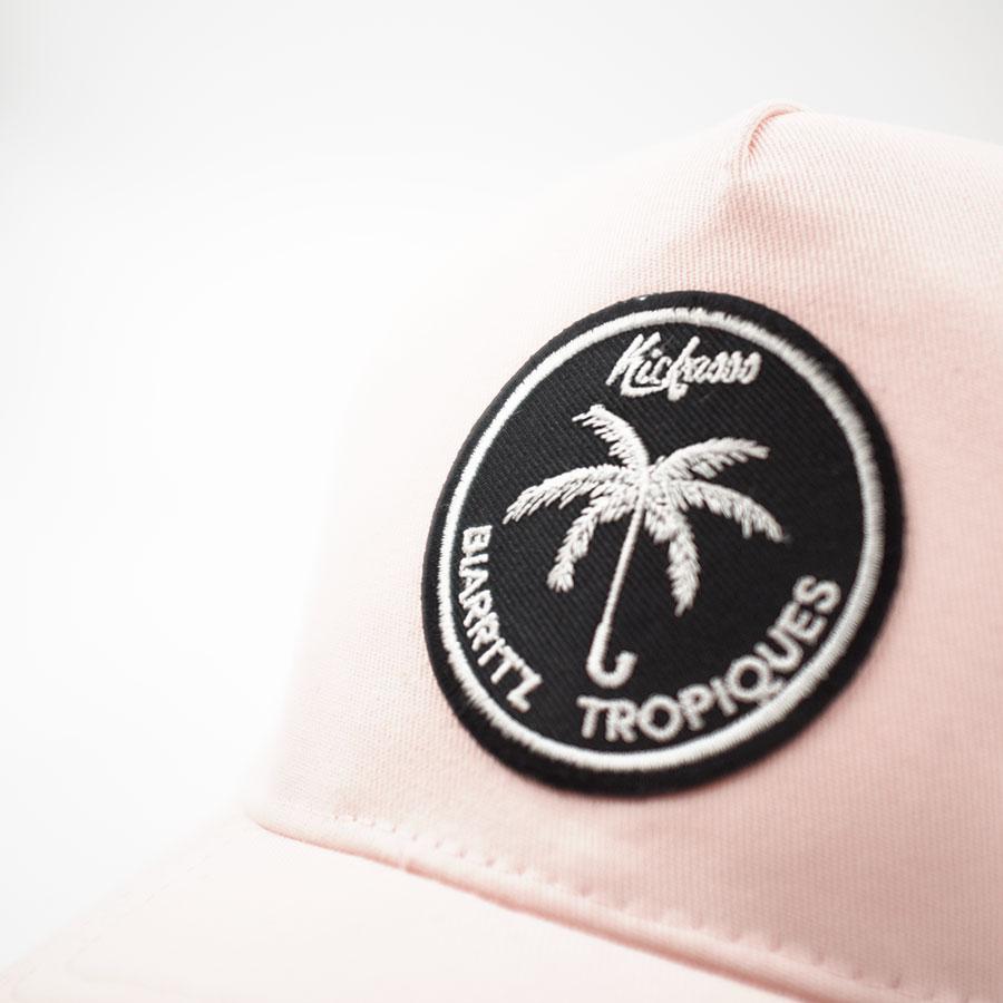 casquette_trucker_tropiques_pink_detail