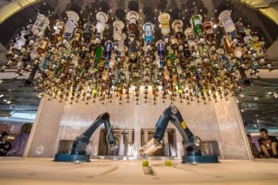 make mine a mojito! we love the bionic bartenders on board