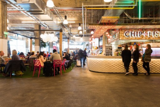 Trinity Kitchen with street food restaurants