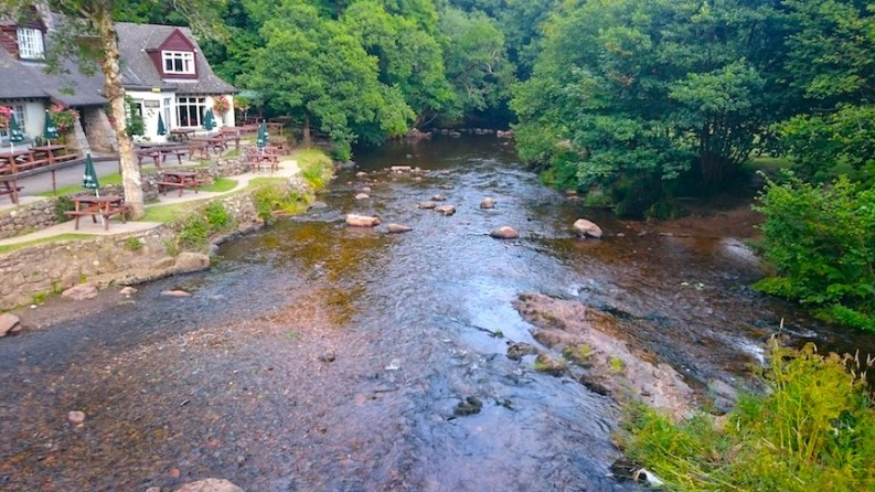 pub on edge of river