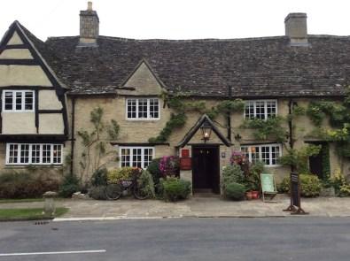 exterior of historic pub
