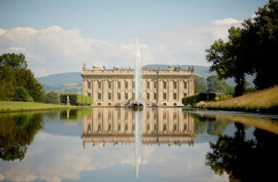 opulent Chatsworth...