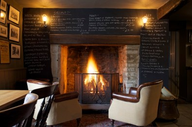 cosy up in the bar