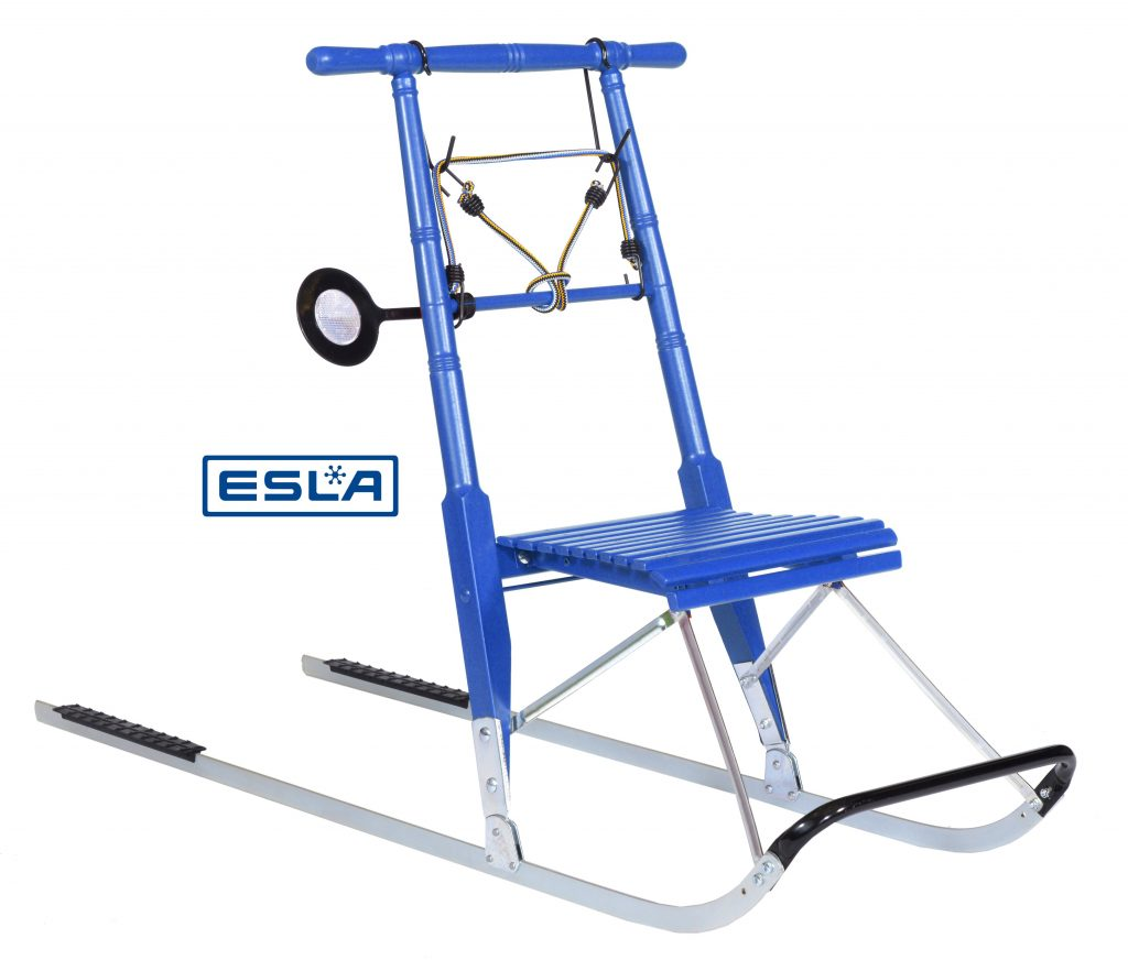 Kicksled Compact patinette neige Bleu