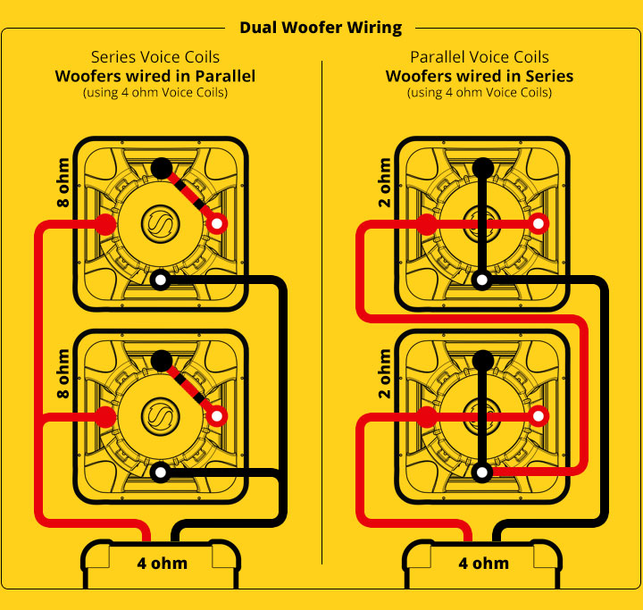 Wiring Diagram For Dual Voice Coil Speakers