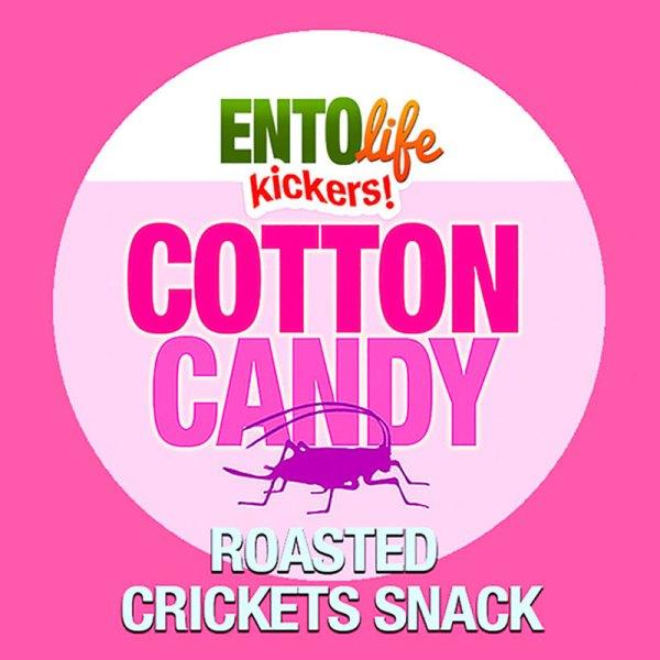 Edible Crickets Flavor Cotton Candy