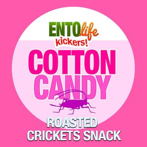 Edible Crickets Flavor Cotton Candy