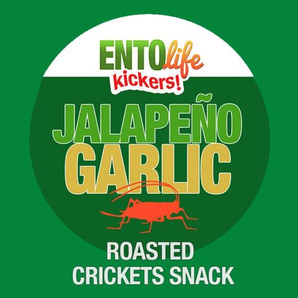 Edible Crickets Flavor Jalapeno Garlic