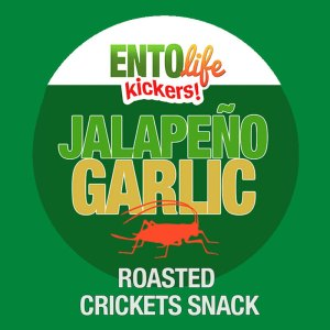 Edible Crickets Flavor Jalapeno Garlic