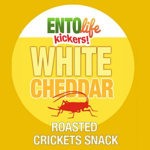 Edible Crickets Flavor White Cheddar