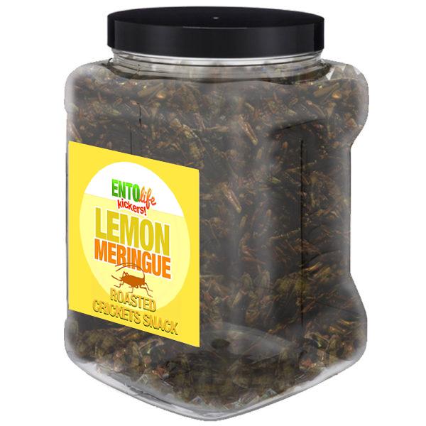 Jar 1lb Crickets Lemon Meringue Flavor