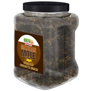 Jar 1lb Crickets Mexican Mole Flavor