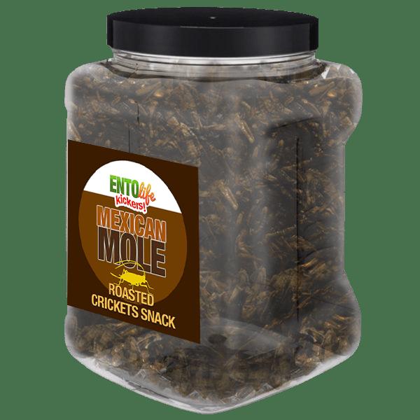 Pound Edible Crickets Mexican Mole Flavor