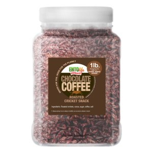 Pound Edible Crickets Chocolate Coffee Flavor
