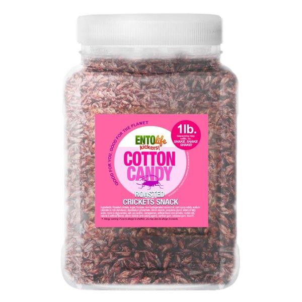 Pound Edible Crickets Cotton Candy Flavor