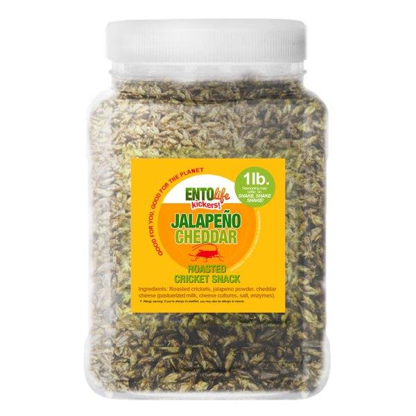 Pound Edible Crickets Jalapeno Cheddar Flavor