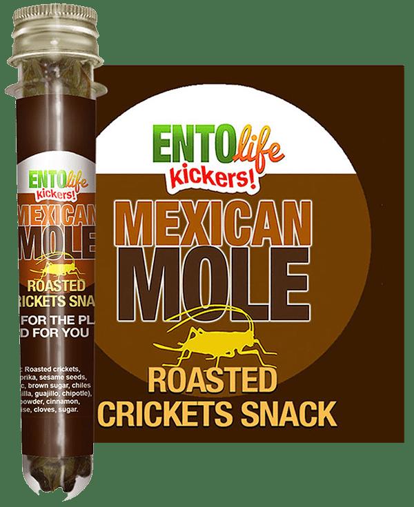 Edible Crickets Flavor Mexican Mole