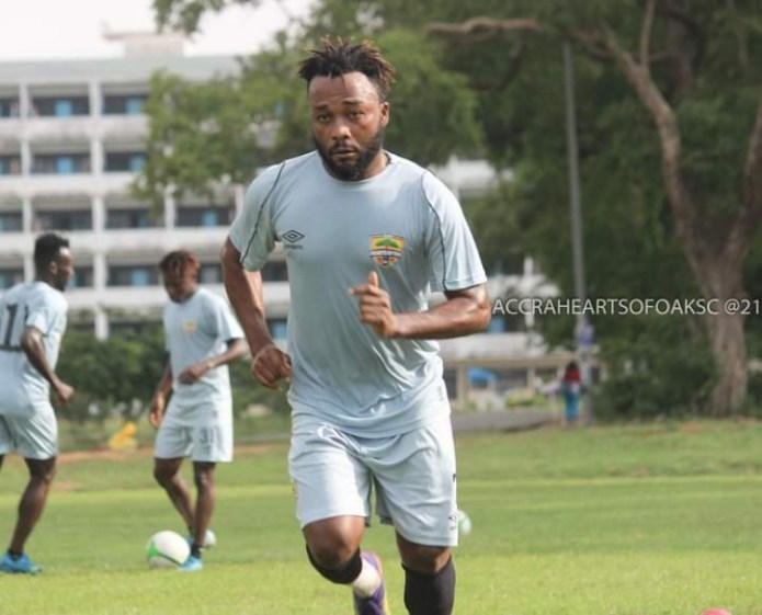 BREAKING NEWS: Gladson Awako quits Hearts of Oak after just THREE WEEKS; Check the reason