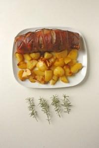 Pork Roast with Honey Glaze @Eat Yourself Greek