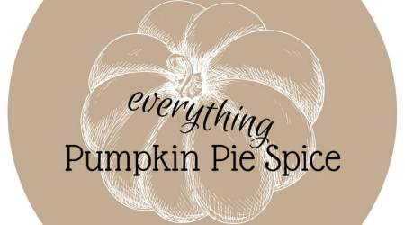 Free Printable Labels: Pumpkin Pie Spice Everything!