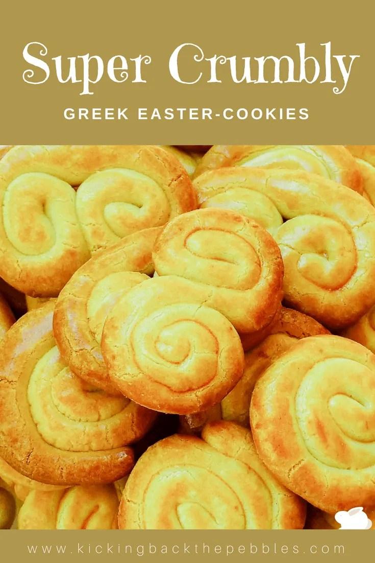 Greek Easter Cookies | Kicking Back the Pebbles