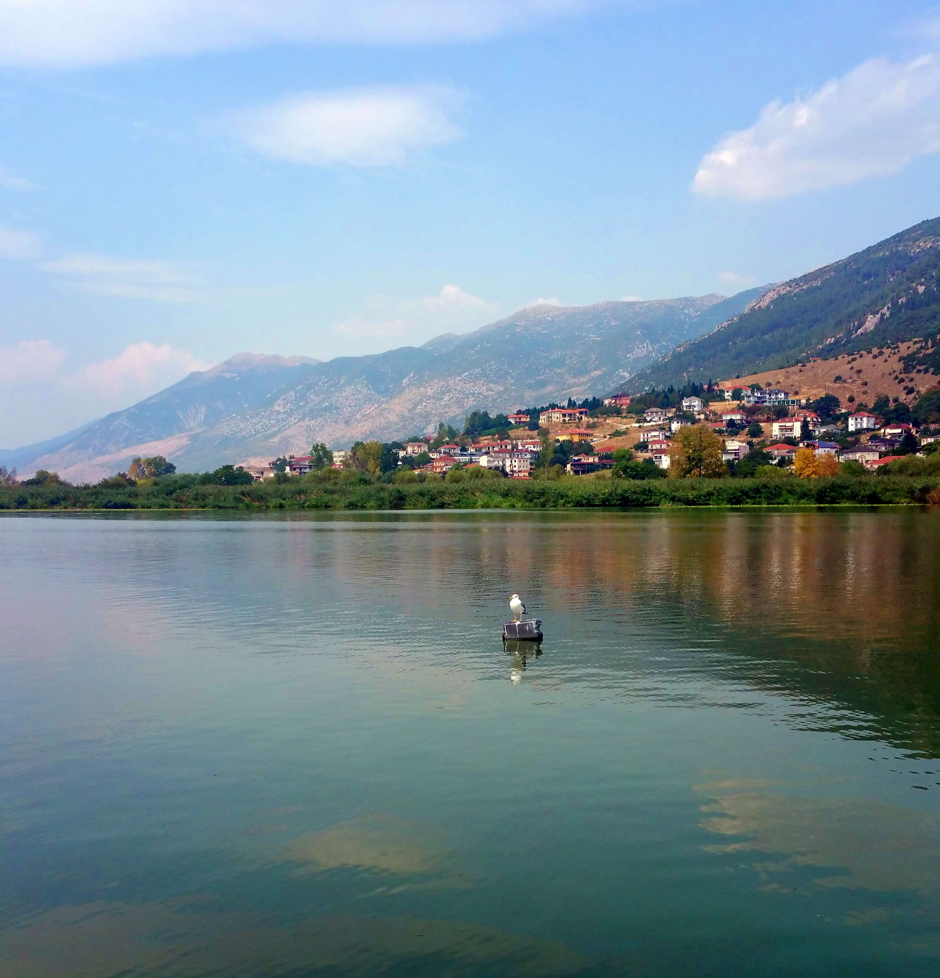 Lake Pamvotis, Ioannina, Greece | Kicking Back the Pebbles