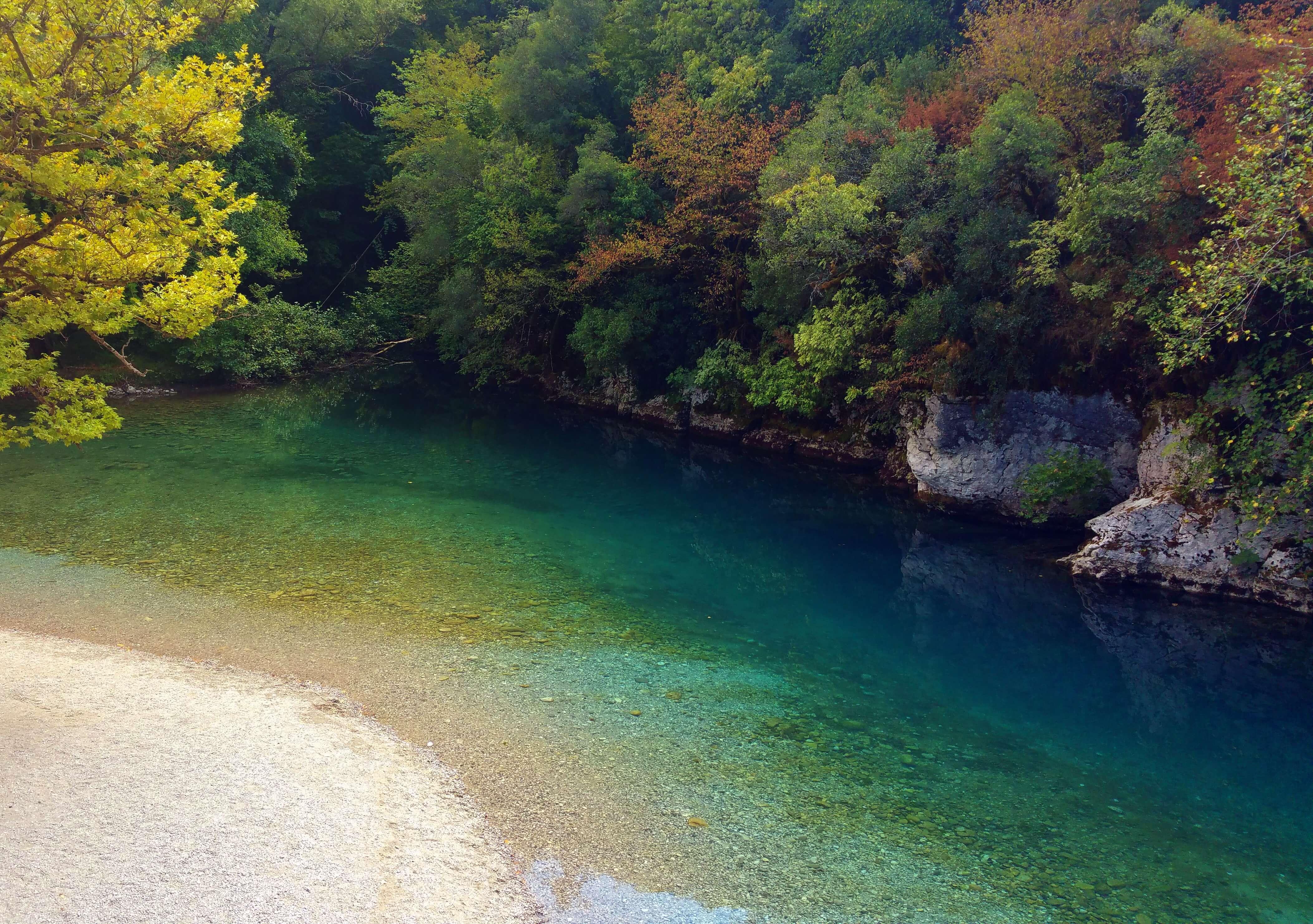 Voidomatis River | Kicking Back the Pebbles