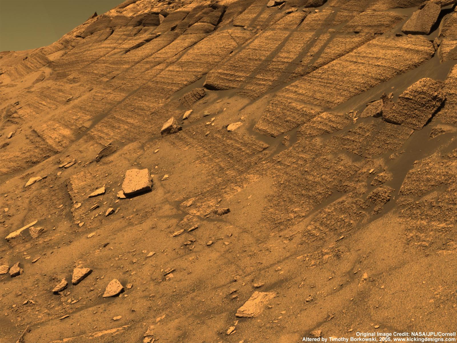 Mars Wallpaper Spirit and Opportunity s Desktop Wallpaper