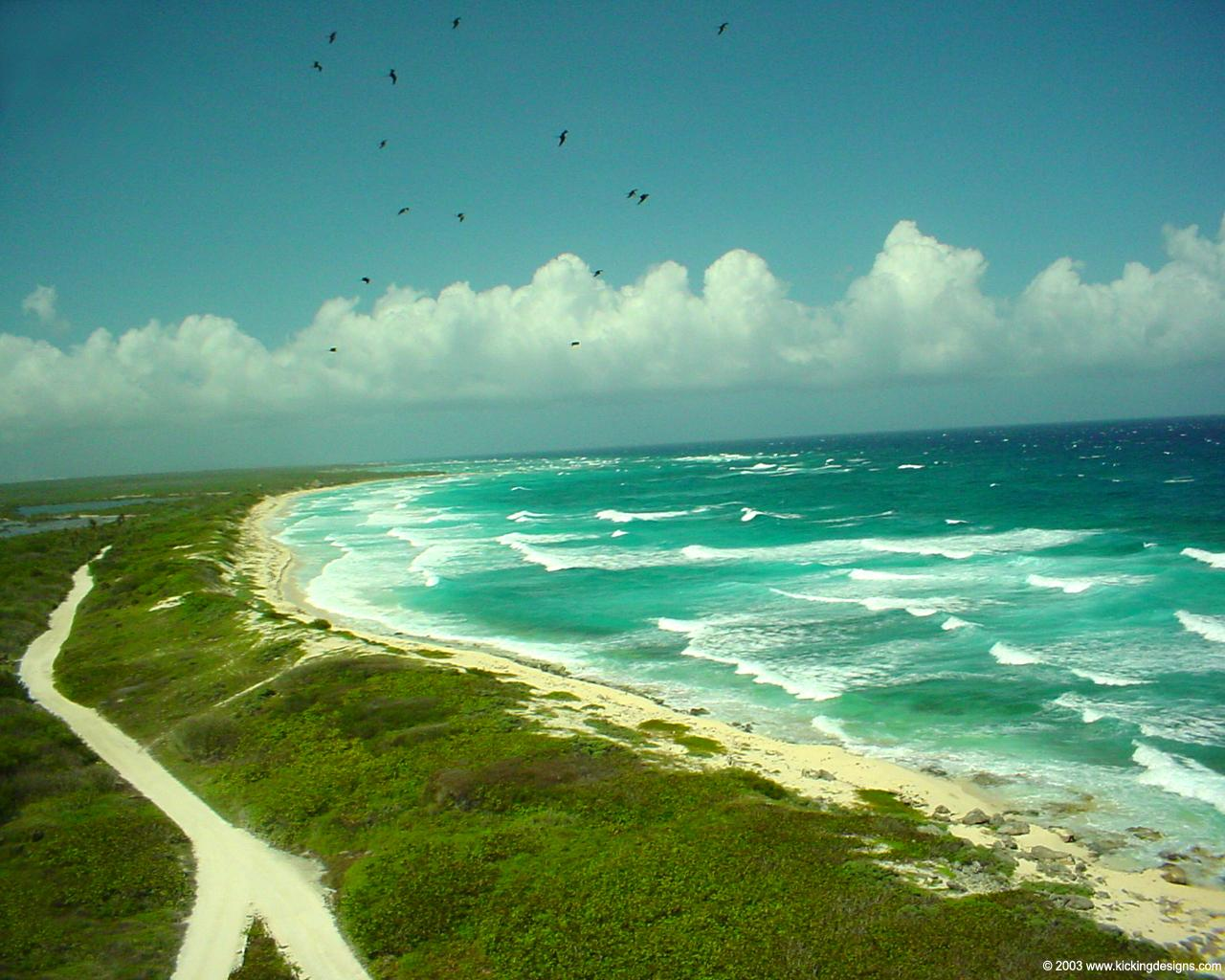 Florida Beach Fall Wallpaper Cozumel Mexico Caribbean Desktop Wallpaper 1280 X
