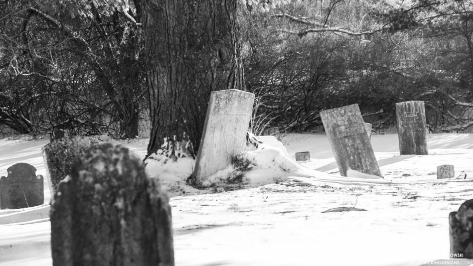 snowy graveyard 2