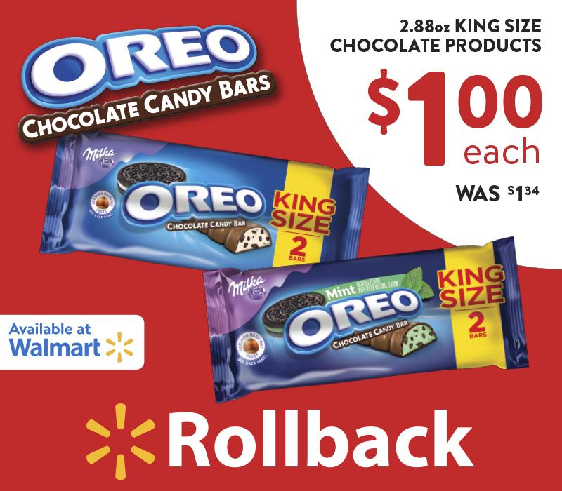 OREO King Size Candy Bars At Walmart 4