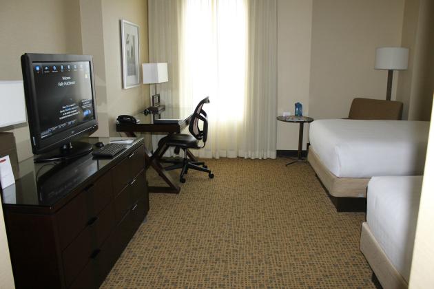grand hyatt double room