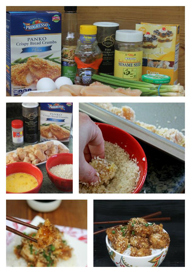 Garlic Honey Chicken Prep