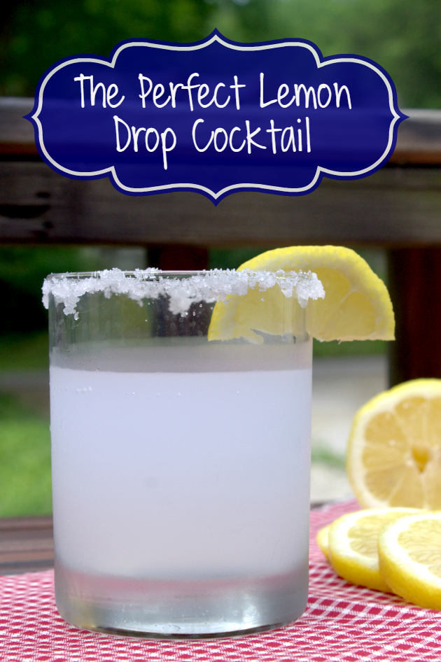 Need an easy cocktail recipe for your next get together? Make a pitcher of my Perfect Lemon Drop Cocktail recipe cuz they go fast!