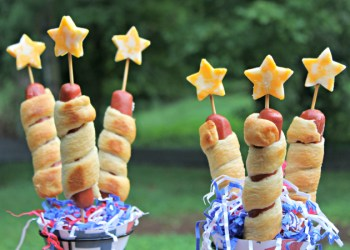 My Firecracker Hot Dogs With Cheese Stars Recipe Is A Fun Patriotic Food For Kids