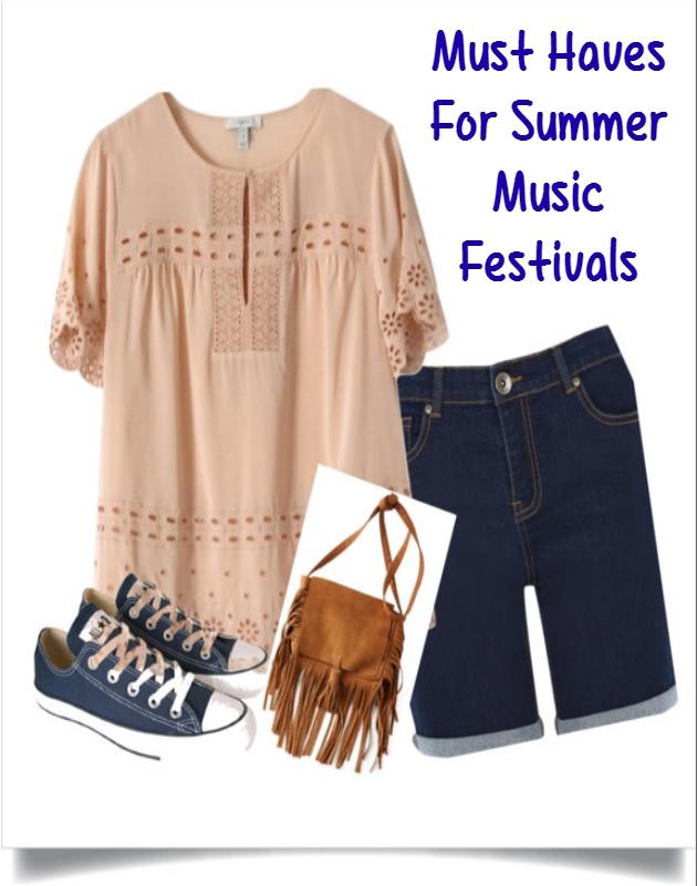 Must Haves For Summer Music Festivals