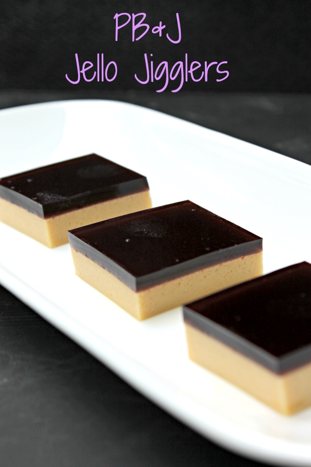 PB&J Jello JIgglers Fun After School Snack