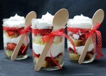 Strawberry Lemon Shortcake Parfait