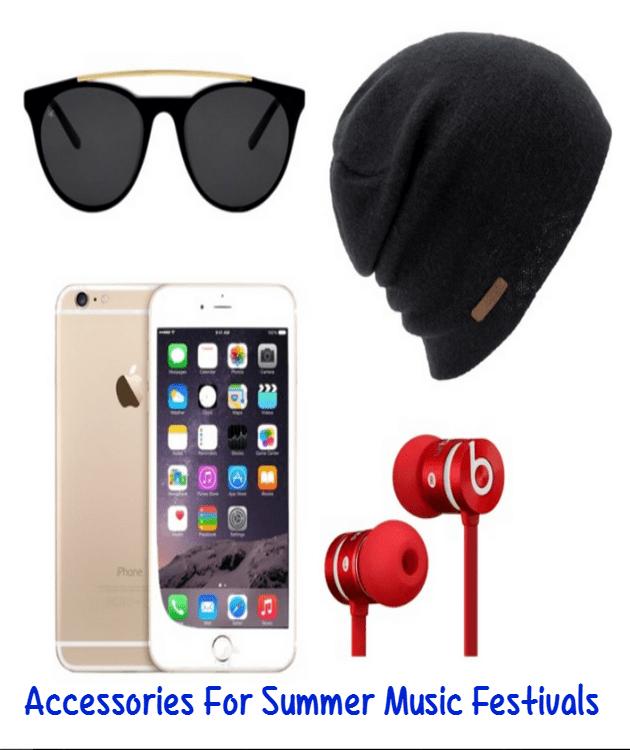 summer music festival accessories