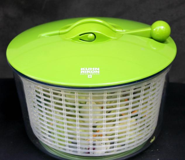 Kuhn Rikon Ratchet Salad Spinner