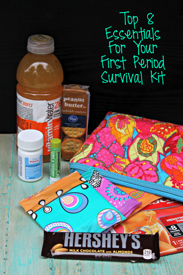 8 Essentials For Your First Period Survival Kit