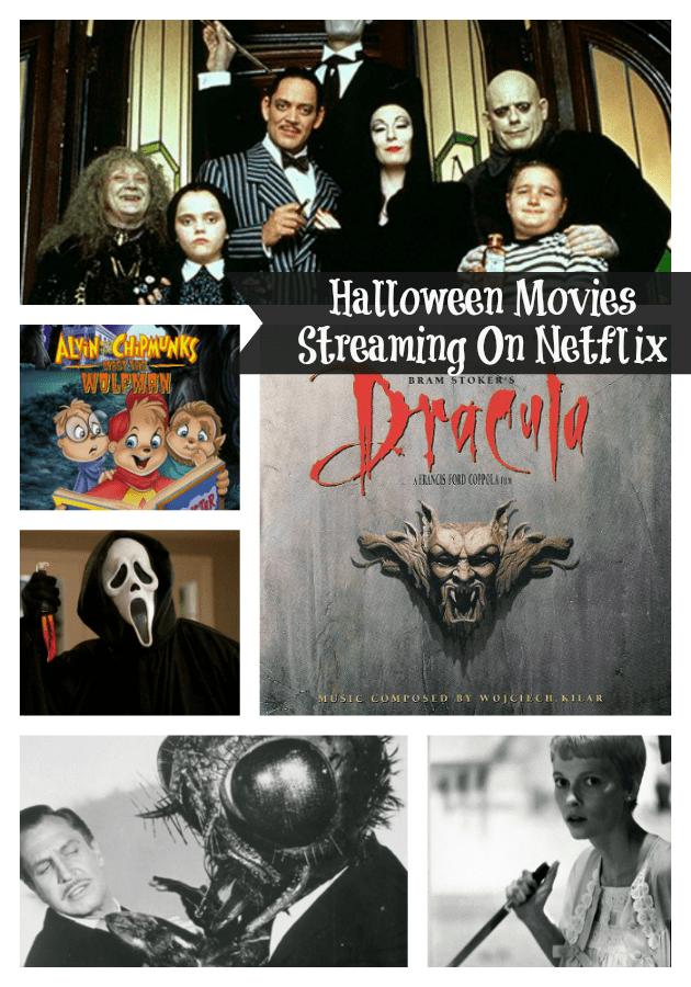 Halloween Movies Streaming On Netflix pin