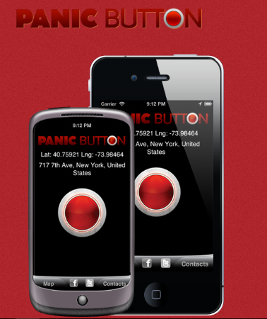 Smartphone Apps For A Safer Halloween panic button