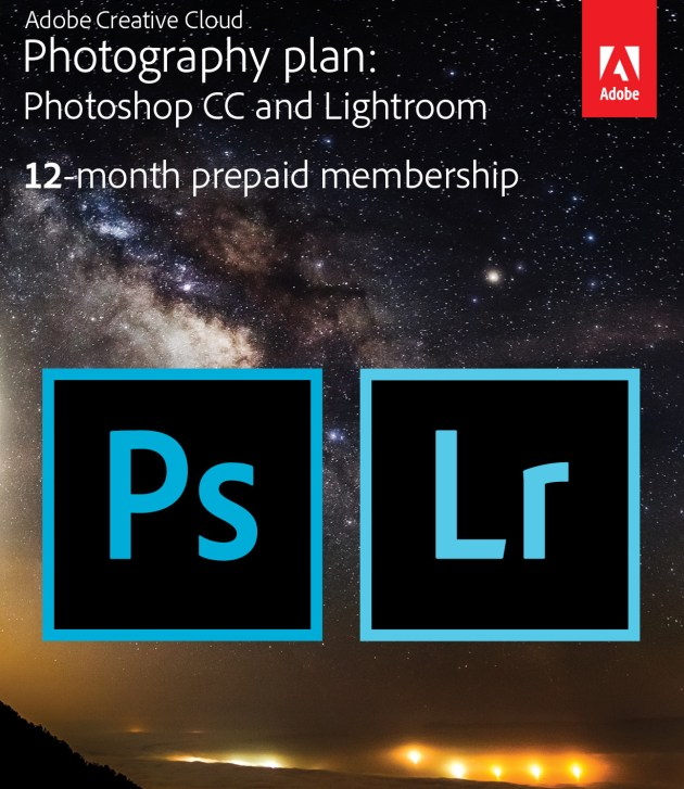 Adobe Creative Cloud Photography Plan from Best Buy