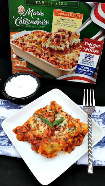 Help Our Troops Celebrate The Holidays lasagna