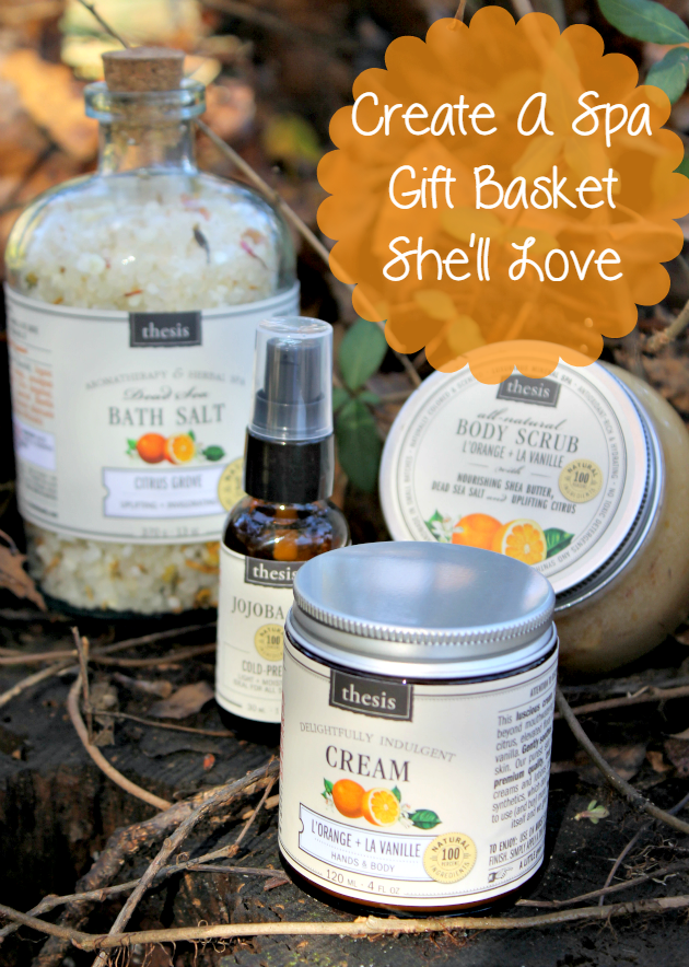 Looking for a gift idea for your mom, grandmother, daughter or any woman in your life? Why not create a spa gift basket she will love?!