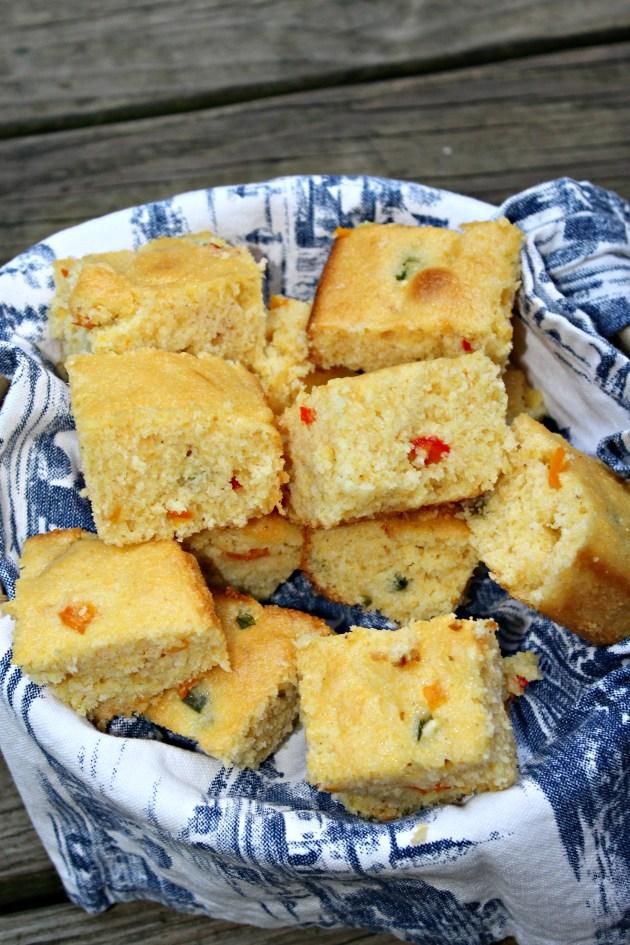 Sweet & Spicy Southwest Corn Bread
