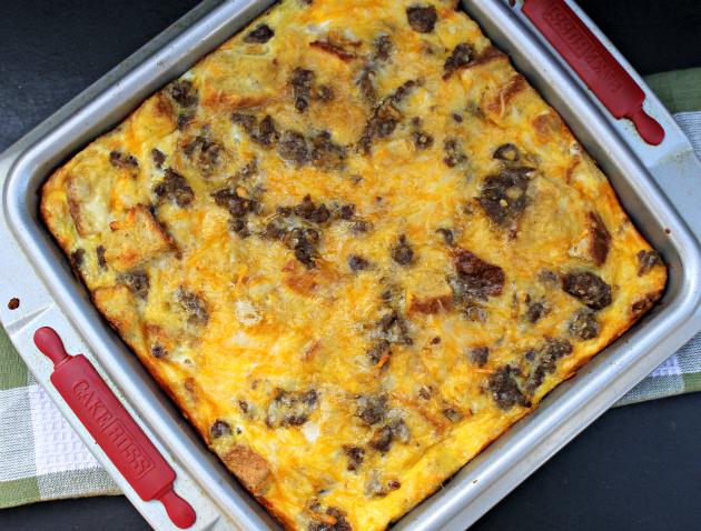 Four Ingredient Breakfast Casserole recipe 1