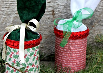 DIY Upcycled Gift Container Tutorial